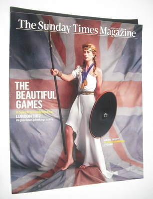 <!--2012-08-19-->The Sunday Times magazine - Laura Trott cover (19 August 2