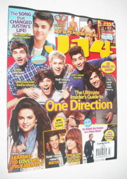 J-14 magazine - One Direction cover (July 2012)