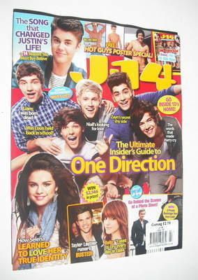 <!--2012-07-->J-14 magazine - One Direction cover (July 2012)