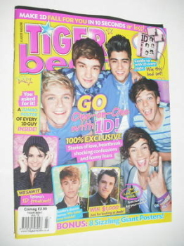 Tiger Beat magazine - July 2012 - One Direction cover