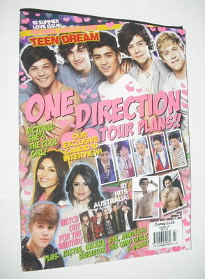 <!--2012-08-->Word Up magazine - Teen Dream One Direction cover (August 201