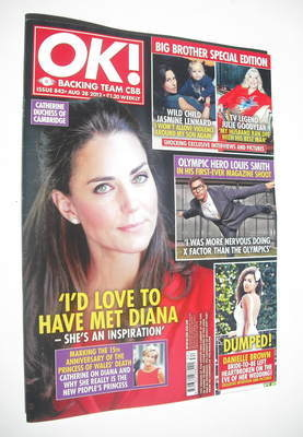 <!--2012-08-28-->OK! magazine - Kate Middleton cover (28 August 2012 - Issu