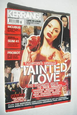 <!--2004-02-14-->Kerrang magazine - Valentine's Special cover (14 February