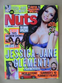 <!--2011-05-27-->Nuts magazine - Jessica-Jane Clement cover (27 May-2 June