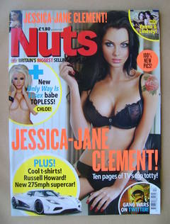 <!--2011-04-01-->Nuts magazine - Jessica-Jane Clement cover (1-7 April 2011