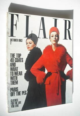 Flair magazine - October 1963