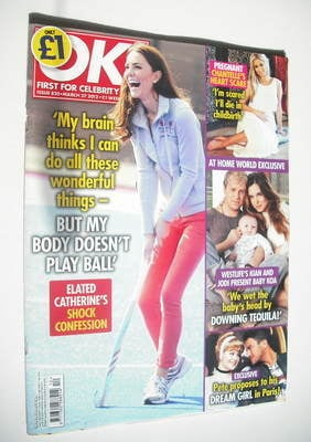 <!--2012-03-27-->OK! magazine - Kate Middleton cover (27 March 2012 - Issue