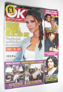 <!--2012-05-08-->OK! magazine - Victoria Beckham cover (8 May 2012 - Issue