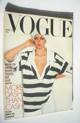 <!--1976-04-15-->British Vogue magazine - 15 April 1976 (Vintage Issue)