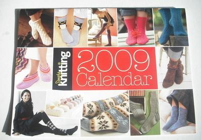 Simply Knitting Calendar 2009