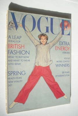 <!--1976-03-15-->British Vogue magazine - 15 March 1976 (Vintage Issue)