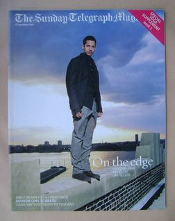 The Sunday Telegraph magazine - David Blaine cover (8 September 2002)
