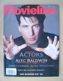 Movieline magazine - May 1994 - Alec Baldwin cover