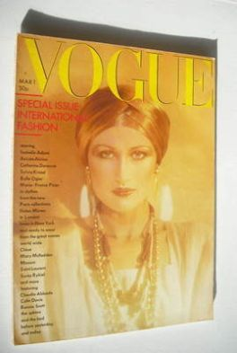 <!--1976-03-01-->British Vogue magazine - 1 March 1976 (Vintage Issue)