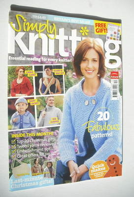 Simply Knitting magazine (Issue 48 - December 2008)