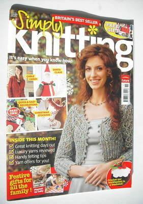 Simply Knitting magazine (Issue 47 - November 2008)