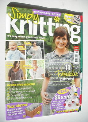 Simply Knitting magazine (Issue 46 - October 2008)