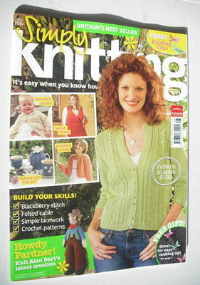 Simply Knitting magazine (Issue 44 - August 2008)
