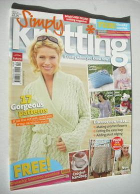 Simply Knitting magazine (Issue 19 - September 2006)