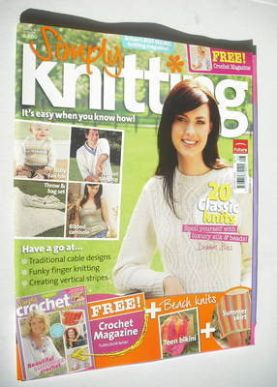 Simply Knitting magazine (Issue 18 - August 2006)