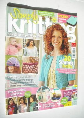 Simply Knitting magazine (Issue 17 - July 2006)