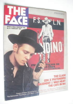<!--1981-02-->The Face magazine - Paul Simonon cover (February 1981 - Issue 10)