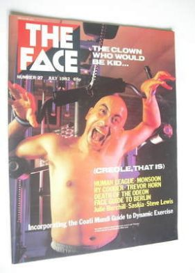 <!--1982-07-->The Face magazine - Coati Mundi cover (July 1982 - Issue 27)