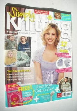 Simply Knitting magazine (Issue 15 - May 2006)