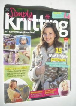 Simply Knitting magazine (Issue 13 - April 2006)