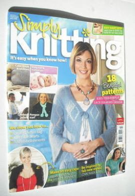 Simply Knitting magazine (Issue 11 - February 2006)