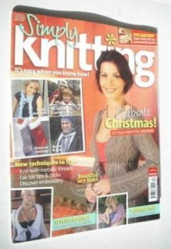 <!--2005-12-->Simply Knitting magazine (Issue 09 - December 2005)