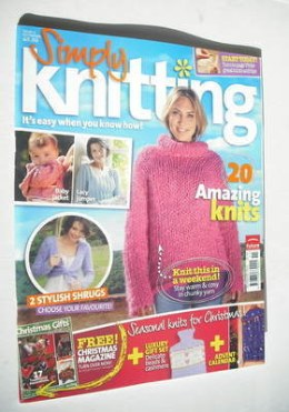 Simply Knitting magazine (Issue 08 - November 2005)
