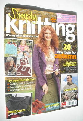 Simply Knitting magazine (Issue 07 - October 2005)