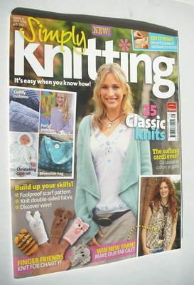 Simply Knitting magazine (Issue 06 - September 2005)