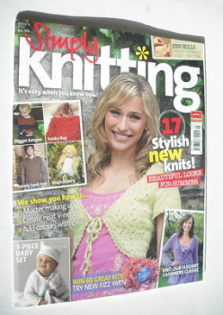Simply Knitting magazine (Issue 04 - July 2005)