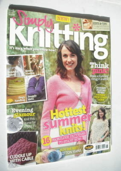 Simply Knitting magazine (Issue 03 - June 2005)