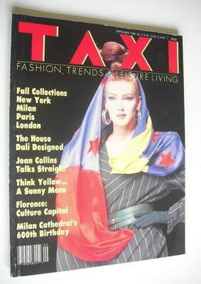 TAXI Magazine - September 1986