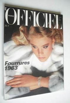 <!--1982-10-->L'Officiel Paris magazine (October 1982)