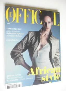 L'Officiel Paris magazine (February 2005)