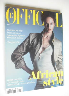 <!--2005-02-->L'Officiel Paris magazine (February 2005)