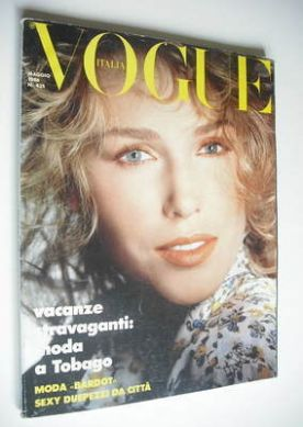 <!--1986-05-->Vogue Italia magazine - May 1986