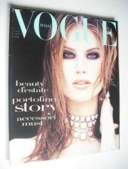 Vogue Italia magazine - June 1992