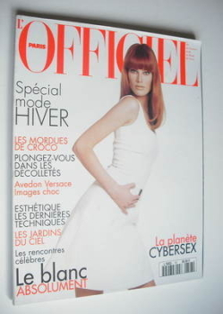 L'Officiel Paris magazine (August 1995 - Meghan Douglas cover)