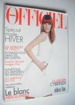 <!--1995-08-->L'Officiel Paris magazine (August 1995 - Meghan Douglas cover)