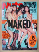 <!--2012-05-18-->Nuts magazine - The Naked Issue cover (18-24 May 2012)