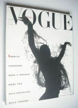 Vogue Italia magazine - July/August 1989