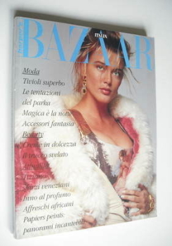 Harper's Bazaar Italia magazine - October/November 1990