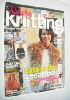 <!--2005-04-->Simply Knitting magazine (Issue 01 - April 2005)