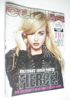 Celebs magazine - Jorgie Porter cover (9 September 2012)