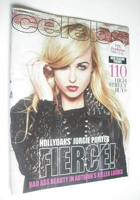 <!--2012-09-09-->Celebs magazine - Jorgie Porter cover (9 September 2012)